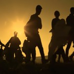 Abstract,Blur,,Bokeh,,Defocus,-,Image,For,Background.,The,Refugees