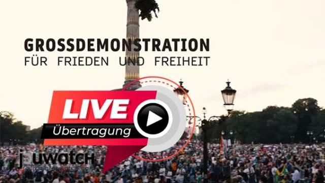 Live aus Berlin; Bild: jouwatch Collage