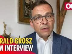 Gerald Grosz zum Mordfall Leonie; Bild: Startbild Youtubevideo OE24.TV