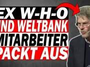 """Peter König (Ex-WHO Mitarbeiter): """"Ich nenne das Mord!""""; Bild: Youtubevideo Startbild Menthur"""
