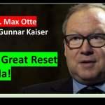 Gunnar Kaiser und Professor Max Otte; Bild: Startbild Youtubevideo