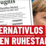Merkels Ruhestand ist Alternativlos – Zeugnis für Angela Merkel | Peter Felser; Bild: Startbild Youtubevideo
