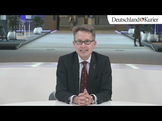 Konferenz zur Zukunft Europas | Gunnar Beck; Bild: Startbild Youtubevideo DK