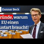 6 Gründe, warum die EU einen Neustart braucht! | G. Beck; Bild: Startbild Youtubevideo