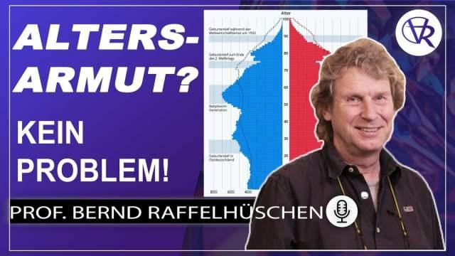 Über erfundene Corona-Wellen und Altersarmut - Prof. Dr. Raffelhüschen; Bild: Startbild Youtubevideo Argumentorik: Menschen Überzeugen mit Wlad