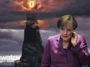 Merkel in Mordor; Bild: Collage