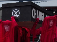 Klimaterror (Bild: shutterstock.com/Von Margarita Young)