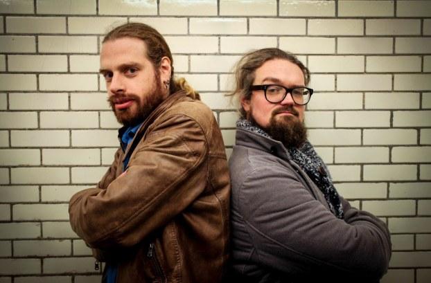 Tim Van der Mensbrugghe van De Rechtzetting (links) en Stijn Van der Stockt van De Raaskalderij (rechts) © Florentien Duquet