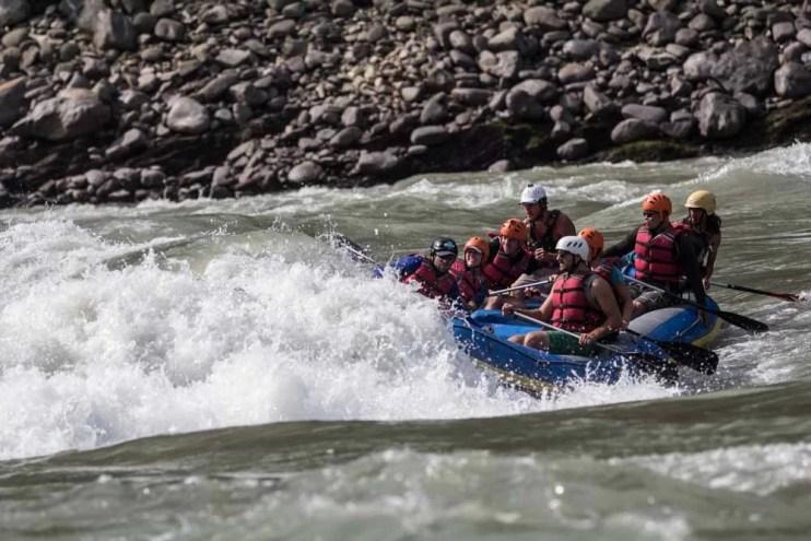 white water rafting nepal
