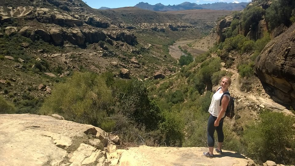 Hiking in Lesotho