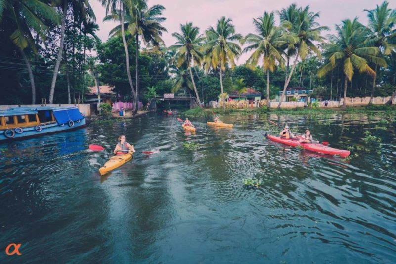 adventure in india - kayaking
