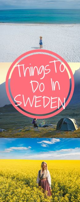 Magical Things To Do in Sweden