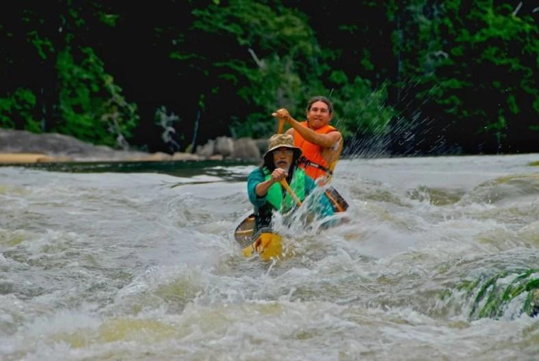 rafting in guyana