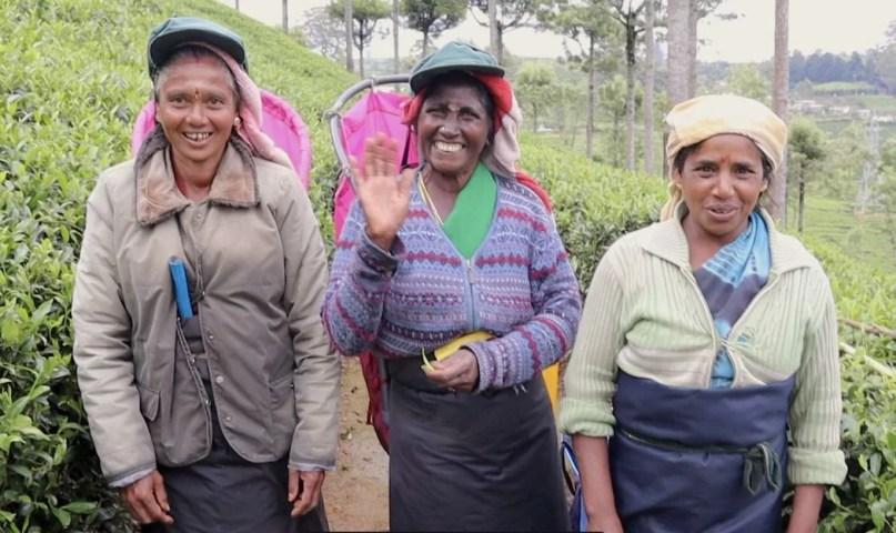 tea workers Sri Lanka