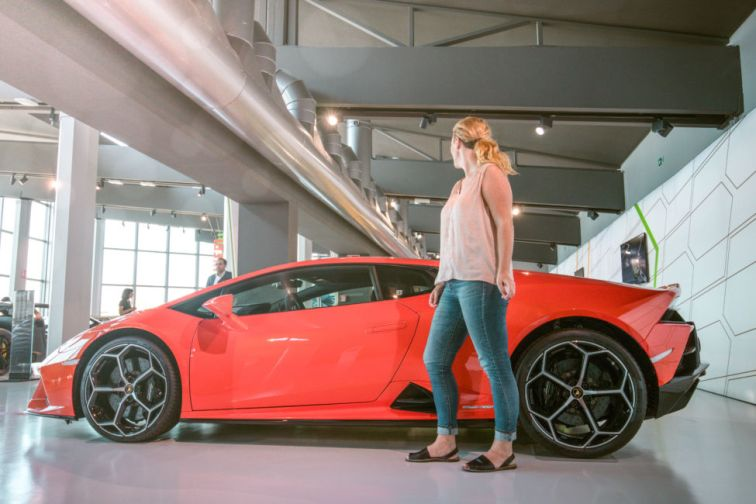 factory tour of Lamborghini