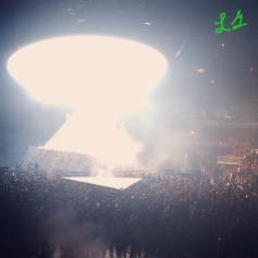 Kanye West's YEEZUS TOUR at United Center in Chicago