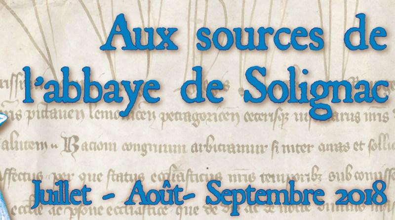 Exposition • Aux sources de l'abbaye de Solignac