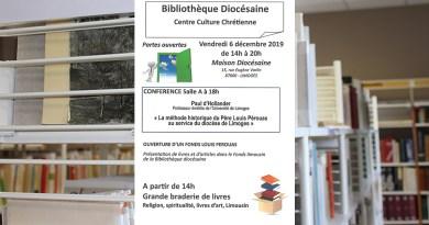 Portes ouvertes à la Bibliothèque diocésaine !