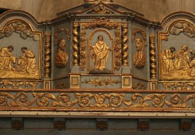 Saint-Laurent-sur-Gorre • Un retable, source de prière