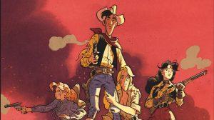Le western remuant de l'autre Lucky Luke, celui de Matthieu Bonhomme
