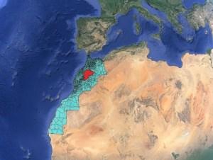 التقييم النوعي للتعرية المائية بمنخفض آيت أعتاب بالأطلس الكبير الأوسط/ المغرب
