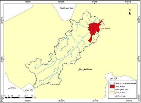 تحليل المعطيات المورفومترية لأحواض التصريف بمدينة حفر الباطن – شمال شرق المملكة العربية السعودية باستخدام نظم المعلومات الجغرافية (GIS)