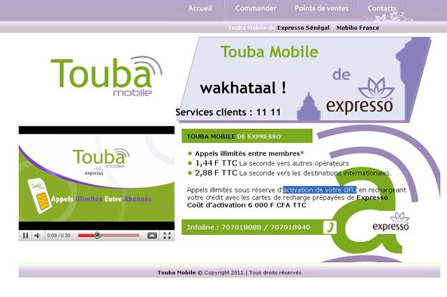 Expresso lance «Touba Mobile».