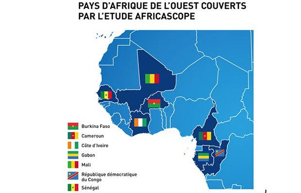 La télévision par satellite affiche une des plus fortes croissances parmi les médias d'Afrique centrale et de l'Ouest