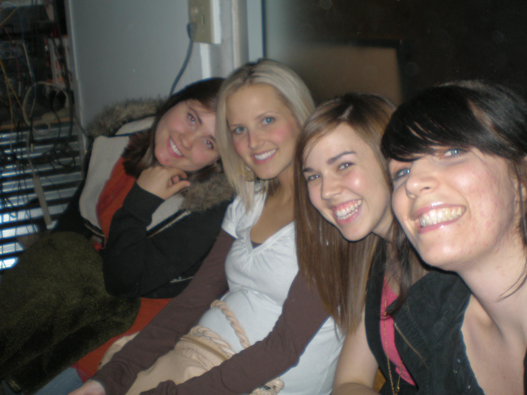 Lisa, Katelyn, Katie & Jess