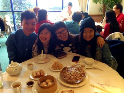 Yum Cha with my family in London!