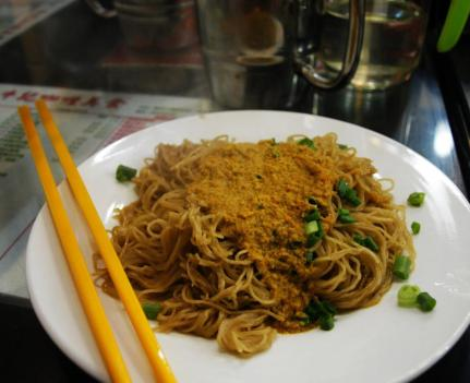 Noodle with crab yellow, my favorite!