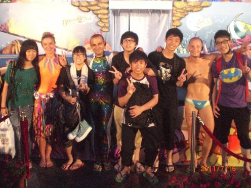 Diving show