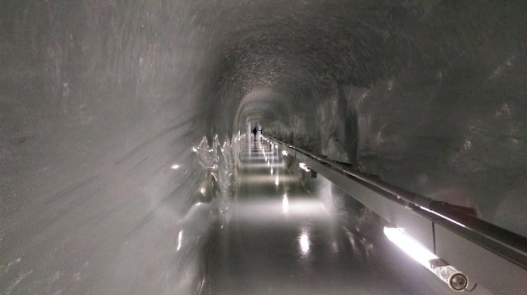 Ice hallway