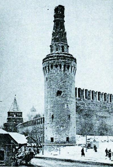 Расстрелянный Кремль выглядел ужасно