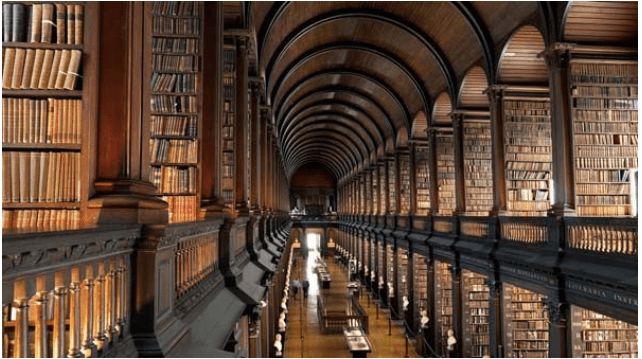 Trinity College Library of Dublin