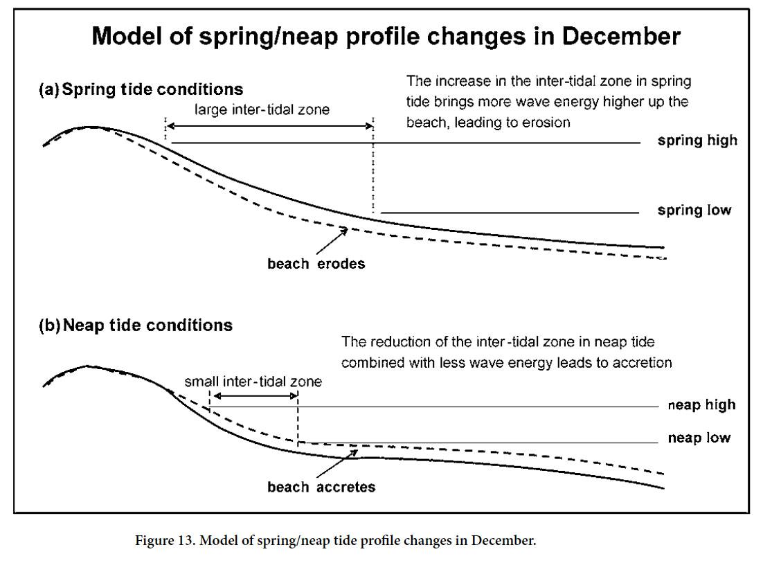 Beach Morphological Dynamics At Cocos Bay Manzanilla