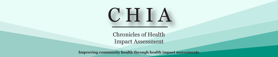 Chronicles of Health Impact Assessment Announcements