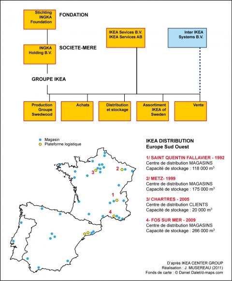 Ikea Un Modèle Territorial En Kit Stratégies D