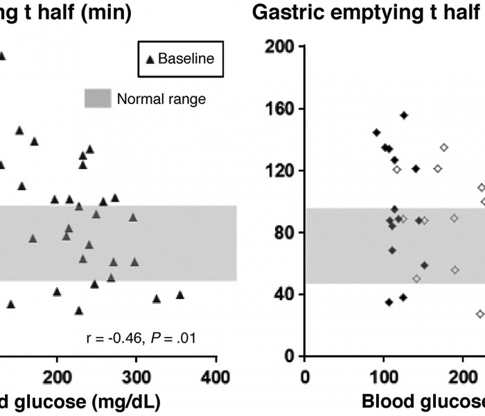 Does Controlling Glycemia Increase Gastric Emptying in Patients with Diabetes?