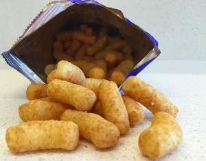 Du Toit et al designed their study based on observations that Israeli children have lower rates of peanut allergy than Jewish children of similar ancestry residing in the United Kingdom. Israeli children typically start consuming peanut-containing foods, including this snack made from peanuts and puffed corn, early in life. Infants in the study ate this peanut snack. Source: NIAID
