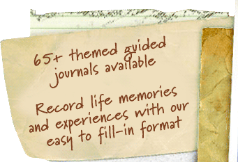 themed and guided journals