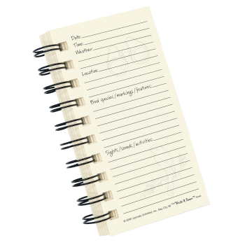 Bird Watching, My Bird Journal