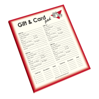 Gift & Card Notepad