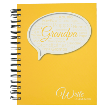 Write to Remember Grandpa Interview Journal