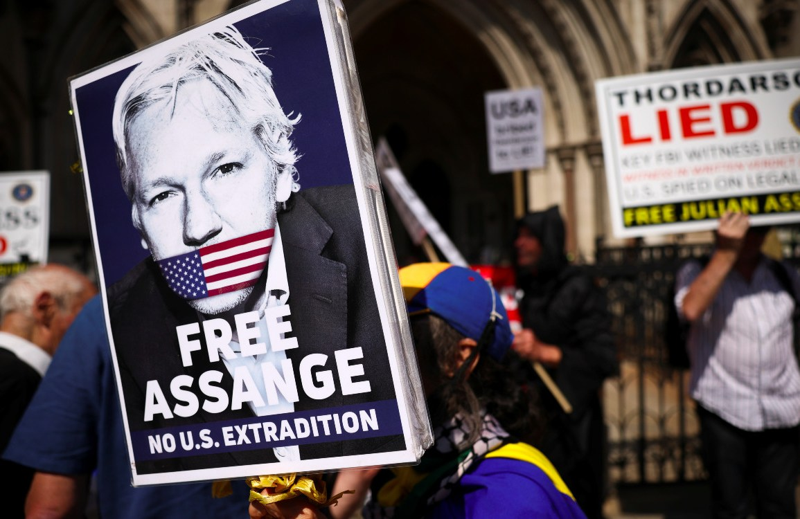US tries again to extradite Assange from the UK