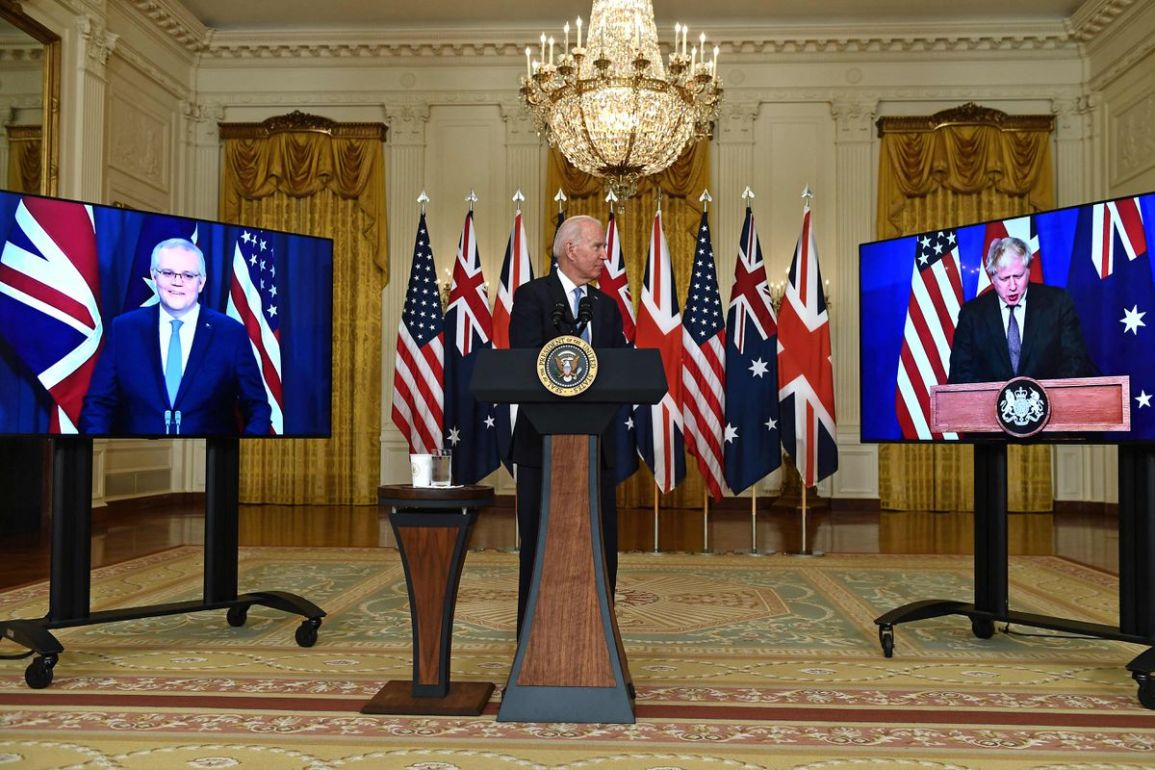 United States Australia and the United Kingdom Pact for defends
