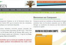 Réouverture de la plateforme campusen pour les inscriptions/Campusen
