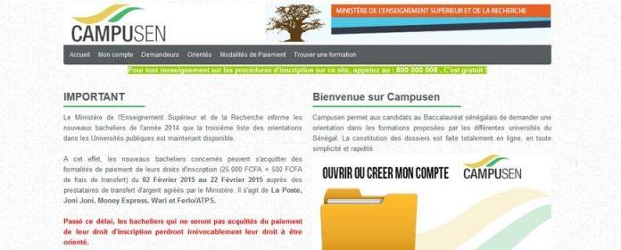 Campusen 2017/Orientation campusen/listes d'orientation des nouveaux bacheliers 2017