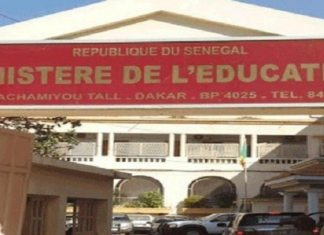Ministère de l'Éducation Nationale du Sénégal recrutement