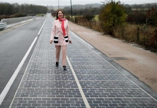 France inauguration de la route solaire